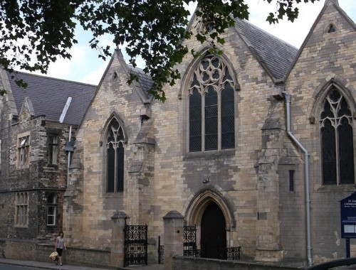 Image of the outside of St George's Church in York