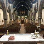 Empty Church from Altar